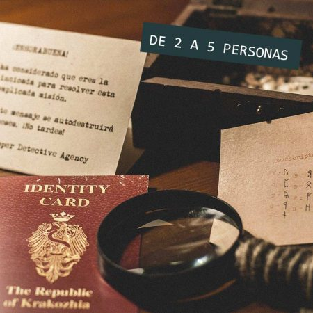 Regalo Kit Detectives Escape Room 5 personas