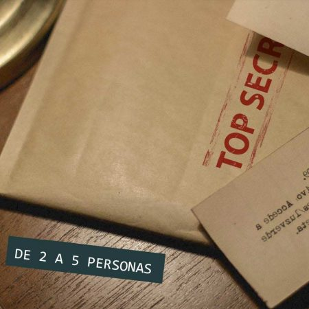 Regalo escape room kit top secret 5 personas