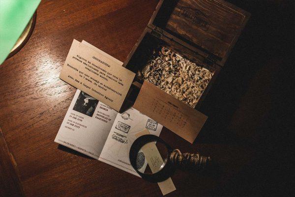 Regalo Escape Room kit detectives
